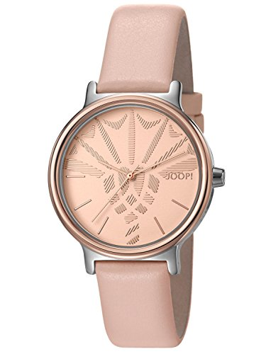 Joop! Time wear donna-Orologio da polso al quarzo in pelle JP101512012