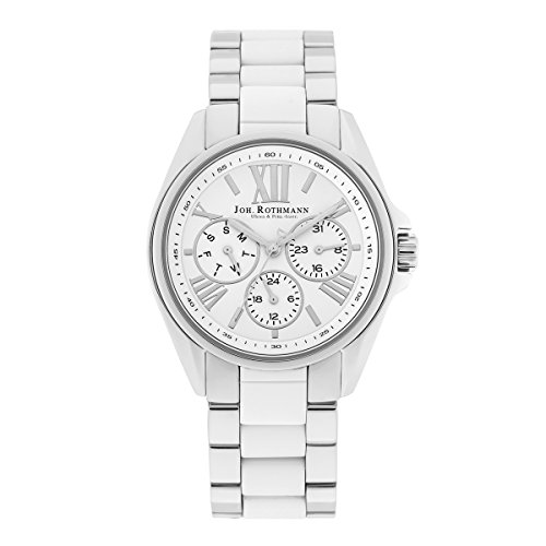 Joh. Rothmann Women's Watch Gyda stainless steel 5 ATM S/WHT 10030037