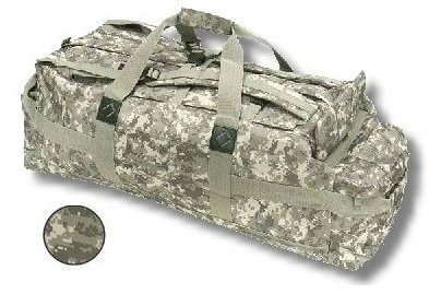 Camo Military Field Gear Duffle Bag Backpack