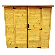 Hot Sale Leisure Season Extra Large Storage Shed, Solid Wood, Decay Resistant