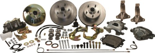 SSBC A123-4 Front Drum to Disc Brake Conversion Kit