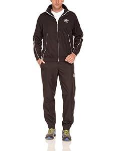 Umbro World Woven Tracksuit Survêtement homme Noir/Blanc/Noir FR : XL (Taille Fabricant : XL)