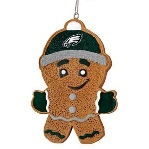 Philadelphia Eagles 2013 Resin Gingerbread Man Ornament at Amazon.com