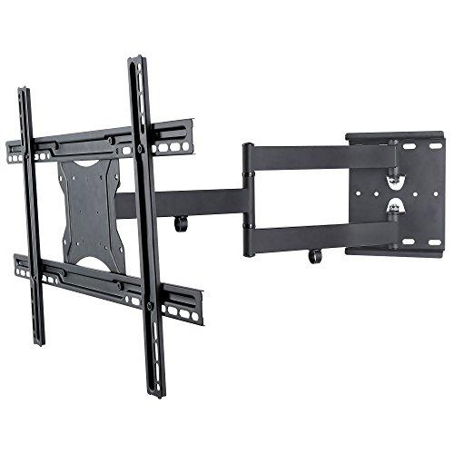 NEG-TV-Wandhalterung-ExTender-6012-schwenkbarneigbarausziehbar-bis-45kg-32-65-Zoll-schwarz