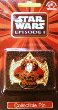 Levitating Queen Amidala's Royal Starship Pin from Star Wars Episode I