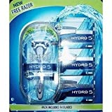 Wilkinson Sword Hydro 5 Shaving Set - Includes 14 Blades (Items may be removed from the card)
