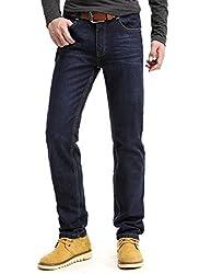 Demon&Hunter III Series Men's Regular Straight Leg Jeans 8002(33)