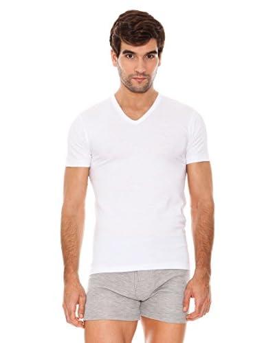 Abanderado Pack x 6 Camisetas Manga Corta Blanco