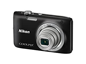 Nikon Coolpix S2800 20.1 MP Point and Shoot Digital Camera with 5x Optical Zoom (Black)