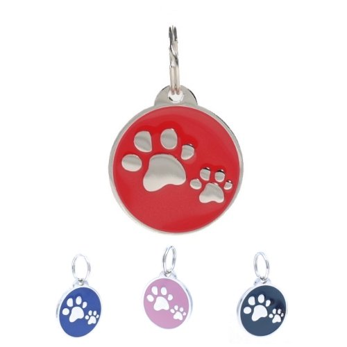 pettouchid-smart-pet-id-tag-qr-code-nfc-gps-location-red
