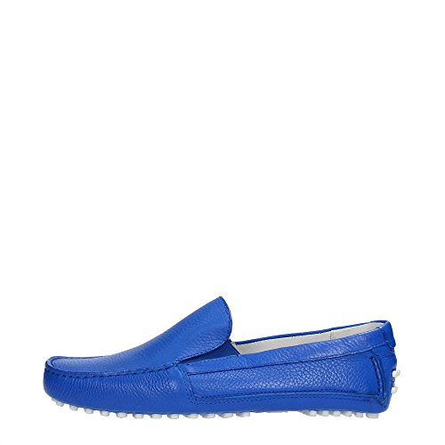 Bikkembergs BKE107911 Mocassino Uomo Pelle Blue Blue 45