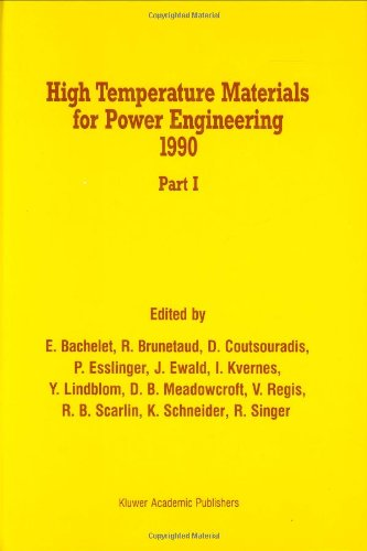 High Temperature Materials for Power Engineering 1990 (2 Volume Set)