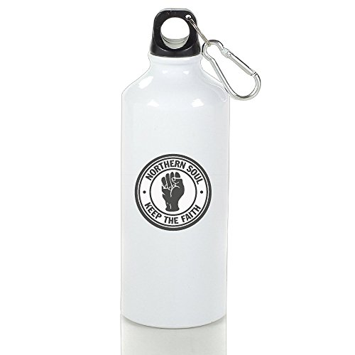 Northern Souls Keep The Faith Sports Water Bottle Aluminum Bottle Sport Sports Bottle Large Capacity For Outdoor Cycling, Hiking, Camping, Exercise And Travel 400ml (Northern Soul Top 500 compare prices)