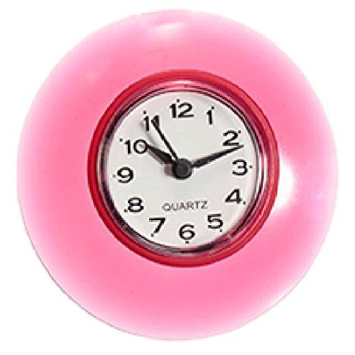 Ochi&Moji Bathroom Clock Suction Cup Waterproof Wall Clock Resistant