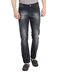 Fever Men's Jeans (60117-1-38_Blue)