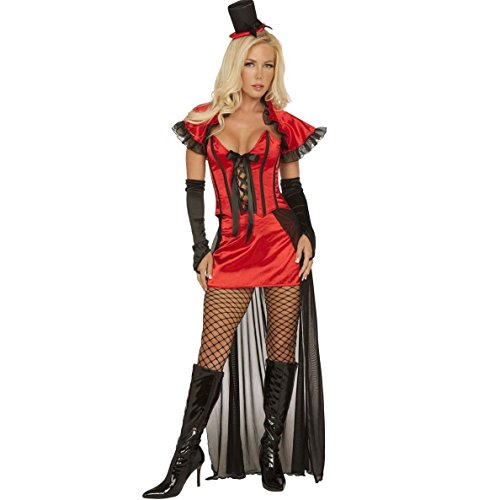 Ring Mistress Halloween Costume Vampiress Ringmistress Ringmaster Women's Small