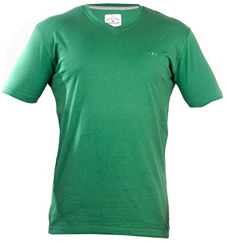 TOM TAILOR -  T-shirt - Maniche corte  - Uomo verde X-Large