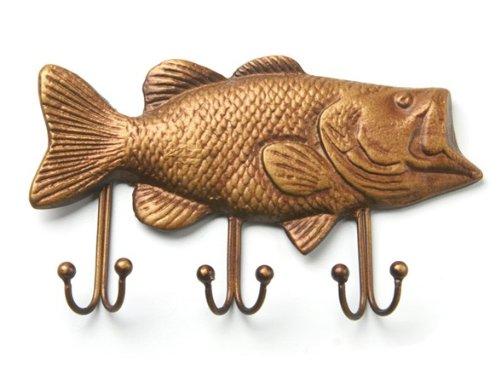 Bass Fish Key Holder, Fish Key Hook – Key Rack