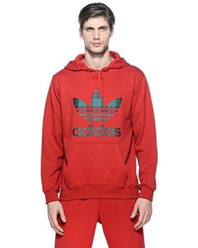 adidas Felpa Hood [Rosso]