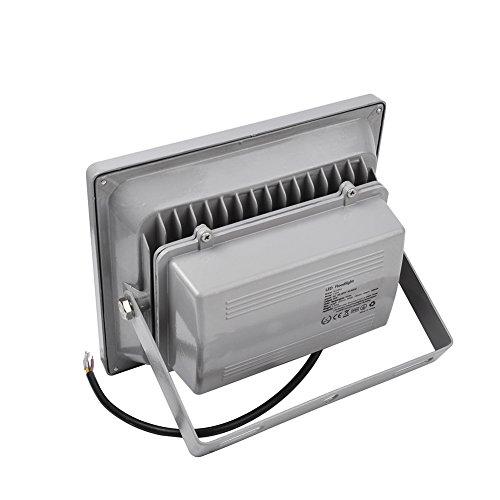 WIDEN ELECTRIC 30W LED Projecteur Lampe de LED Exterieur Lampe Blanc Froid 6500K IP65 LED Spot Lampe du Jardin (6pcs 30w)