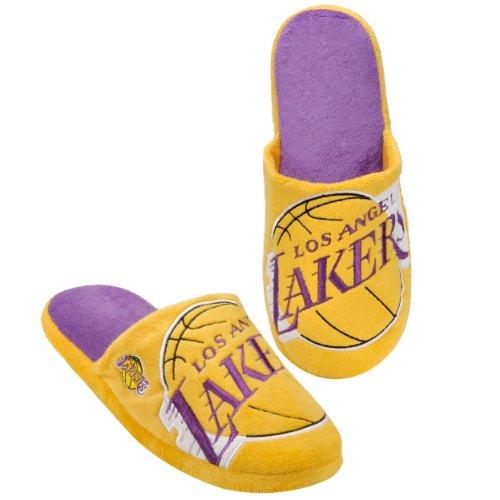 NBA Los Angeles Lakers 2011 Big Logo Slide Slipper Hard Sole Small