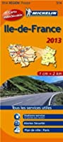 Carte REGION Ile de France 2013 n°514