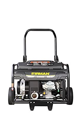 Firman Generators 9000 Watt 15 HP Electric Start Gas Powered Portable Generator with Wheel Kit