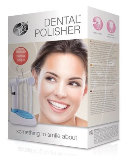 Rio Dental Tooth Polisher Home Teeth Cleaner Hygiene Kit Device - Reduces Plaque