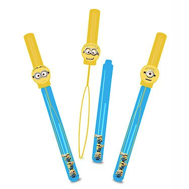 1 x 37cm Despicable Me Minion Giant Bubble Wand - Party Bag Bubbles [Toy]