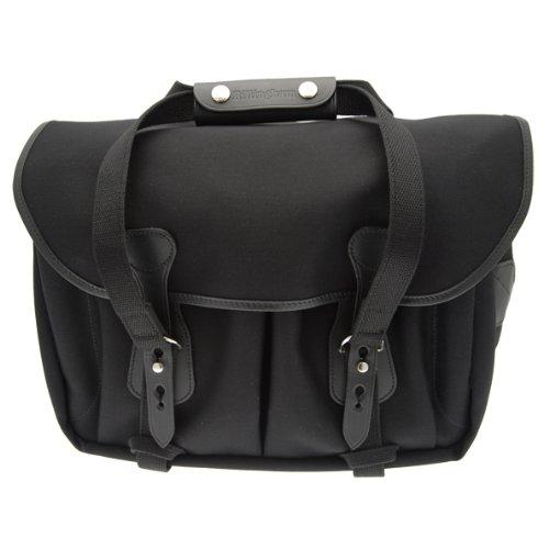 Billingham 335 Black Canvas Camera Bag with Black Leather Trim