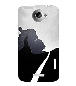 EPICCASE Night Mirage Mobile Back Case Cover For HTC One X (Designer Case)