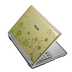 ASUS F6V-C1-Green 13.3-Inch Laptop (2.26 GHz Intel Core 2 Duo P8400 Processor, 4 GB RAM, 320 GB Hard Drive, Vista Premium)