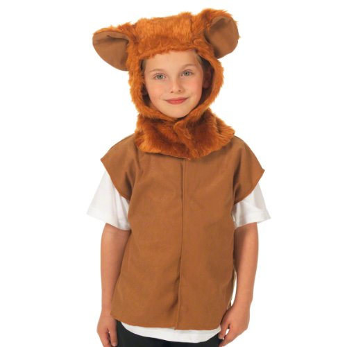 Lion Costume for Kids. One Size. 3-9 Years.