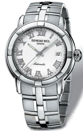 Raymond Weil Parsifal White Dial Automatic Mens Watch 2841-ST-00308