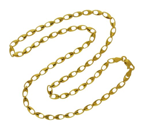 9ct Yellow Gold Fancy Chain 46cm