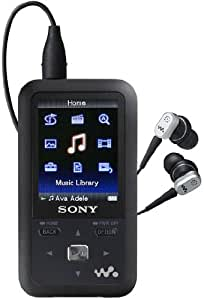 Sony 8 GB Walkman Video MP3 Player with FM Tuner (Black)