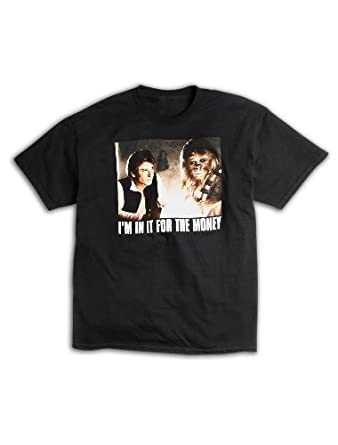 Star Wars I'm In It For The Money Big & Tall Short Sleeve Graphic T-Shirt