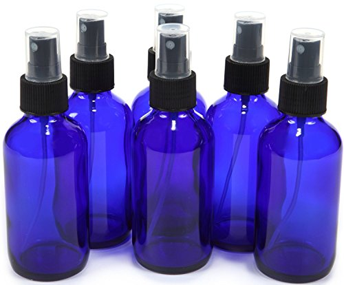 Vivaplex-6-New-Cobalt-Blue-Glass-Bottles