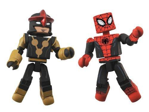 [Diamond Select Toys Marvel Minimates Series 51 Marvel Now Spider-Man and Nova (Sam Alexander) Action Figure by Diamond] (Sauron Costumes)
