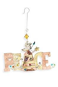 Pilgrim Imports Peace on Earth Fair Trade Holiday Ornament
