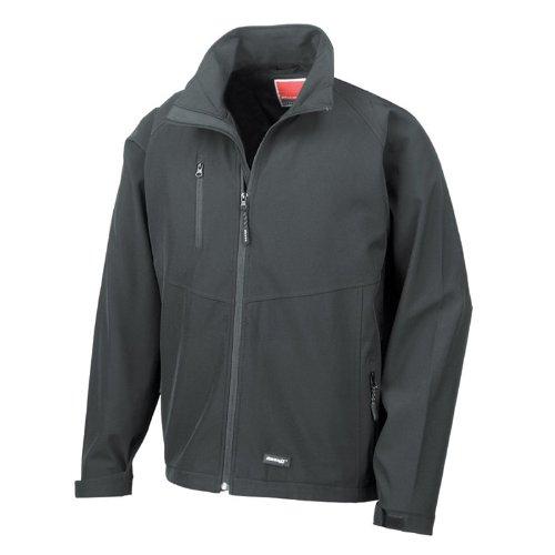 Result Base Layer Softshell Breathable Jacket Mens