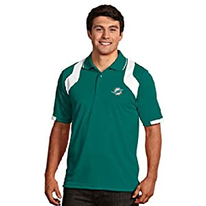 Miami Dolphins Fusion Polo (Team Color) by Antigua