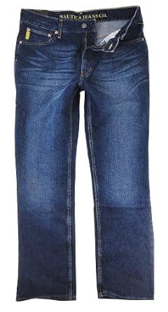 Nautica Jeans Company Mens Classic Fit Jeans, 36 x 32, Deck Wash