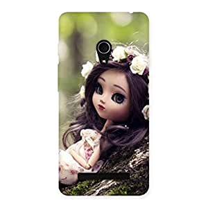 Cute Angel And Tree Multicolor Back Case Cover for Zenfone 5