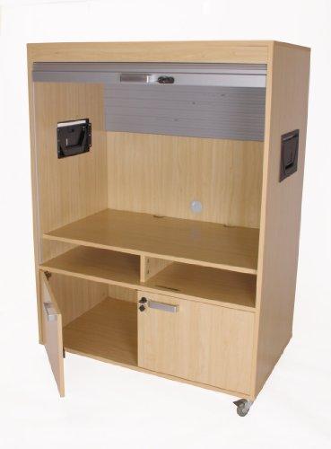 TV Schrank Kidz Pro mit Rollo, 2 Höhen 110 x 65 x 152 cm online kaufen