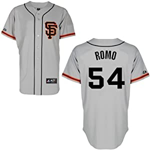 Sergio Romo San Francisco Giants Alternate Road Replica Jersey by Majestic by Majestic