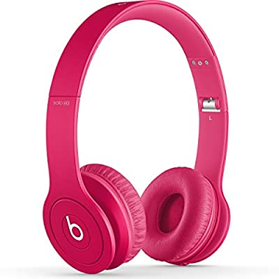 Beats by Dr. Dre Solo HD 07837 | On Ear Headphone Drenched in Pink BT ON SOL DIC PNK