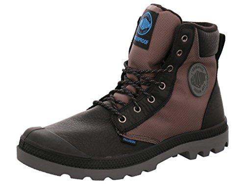Palladium 73234-068, Sneaker uomo Marrone marrone, Nero (Nero / grigio), 39