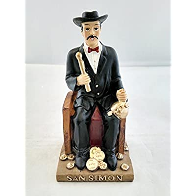 "Amazon.com - New 4.5"" Inch Statue of San Simon Saint Santo -"