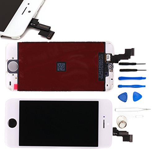 Gbb Front Touch Screen Digitizer Lcd Display Repair Assembly For Iphone 5C(White)